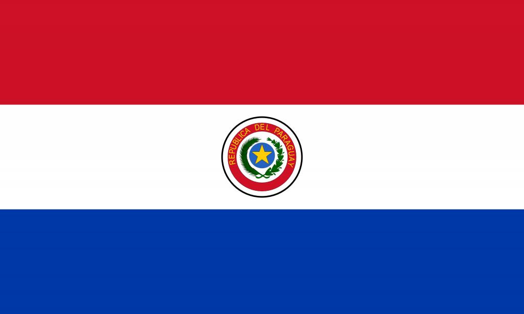 Флаг Парагвай