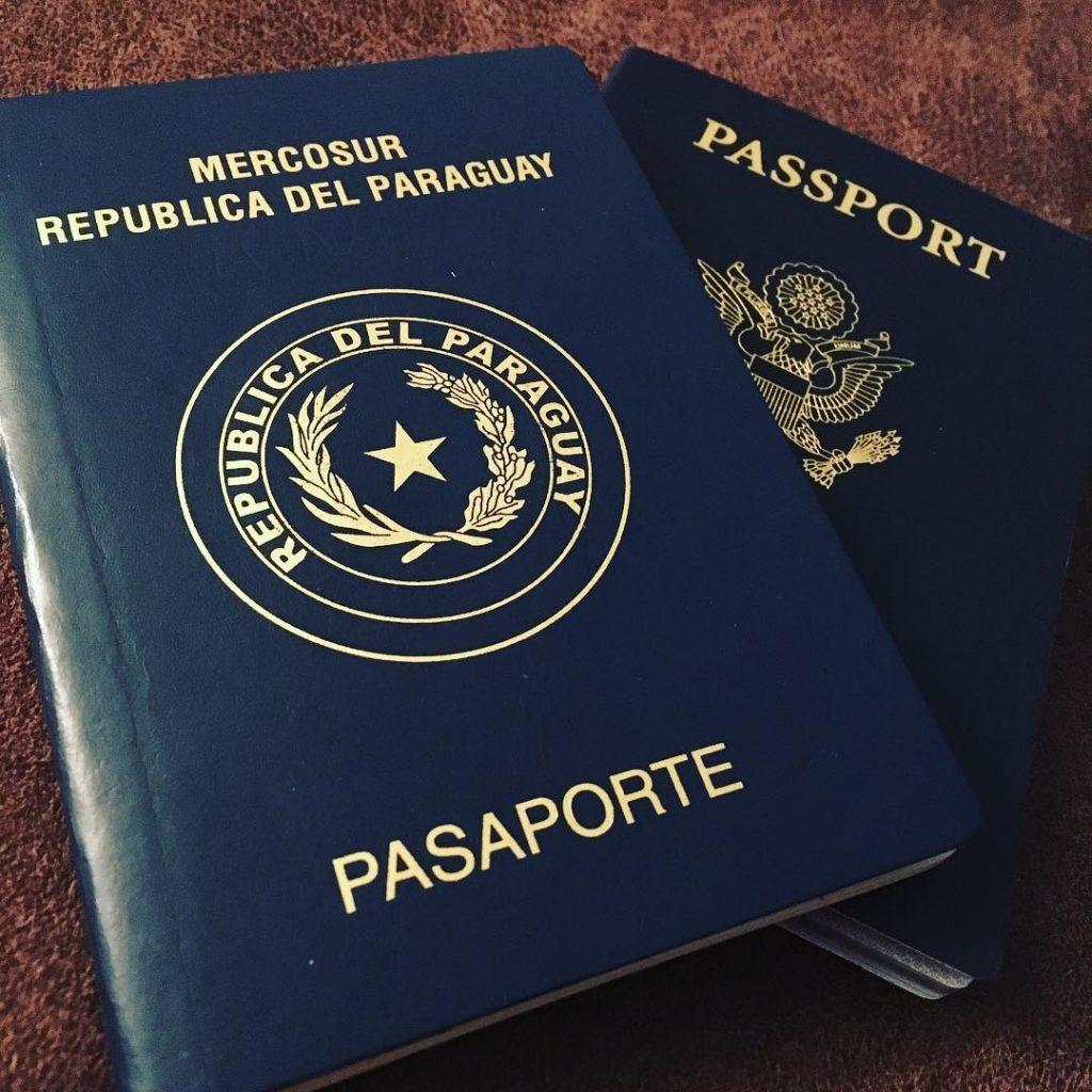 Паспорт Парагвая